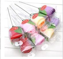 10 pieces PVC rose cake towel Valentines Day gift wedding Christmas promotion unique creative