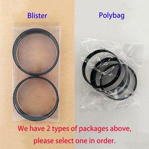 Image 5 - 74.1 72.6mm 20 sztuk czarne plastikowe piasty koła Centric pierścienie dla BMW koła obręczy części akcesoria samochodowe