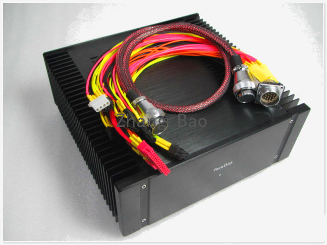 400W type R bovine pure linear computer power / have a fever PC power supply new 3u ultra short computer case 380mm large panel big power supply ultra short 3u computer case server computer case