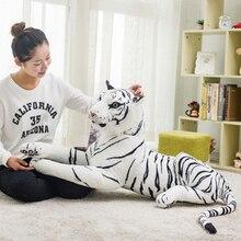 купить chair cushions sofa 30/40c/50/60cm home decor funny Chair Pillow Soft Toys Seat Cushion Cute White Tiger New Stuffed Animals toy дешево
