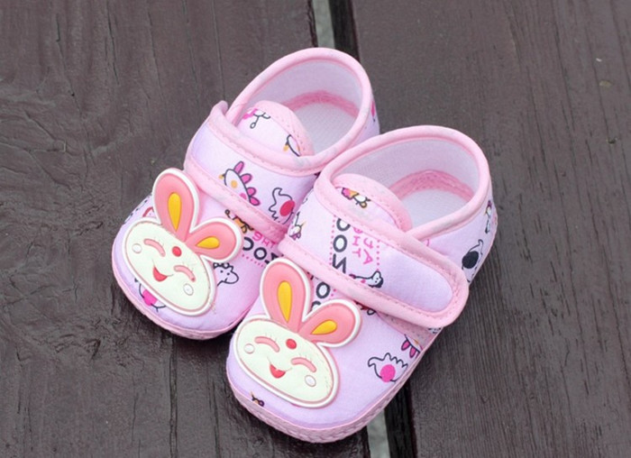 Pair Chinese Characteristics Cartoon Canvas Baby Boys Girls Infant Tendon At The End Skid-proof Toddler Shoes Frist Walkers