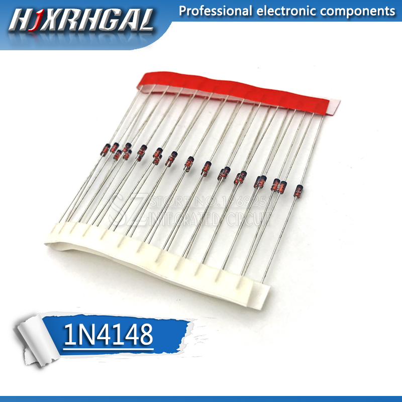 100PCS Do-35 1N4148 IN4148 High-speed Switching Diodes Hjxrhgal