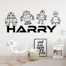 Cartoon harry Removable Art Vinyl Wall Stickers For Babys Rooms Sticker Home Decor