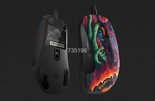 100% Original SteelSeries Rival 300 Gaming Mouse Mice CS:GO For FPS RTS MMO LOL Gamer