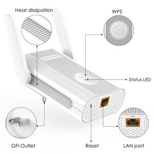Image 2 - 1200 150mbps の 2.4 グラム 5 グラムデュアルバンド ap ワイヤレス無線 lan 長距離エクステンダー wifi ブースター 802.11ac 外部アンテナ作業オンライン & オンライン研究