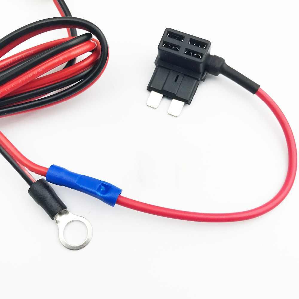 1set 30cm car cigarette cigar lighter socket 12v extension standard fuse tap holder lead with m  [ 1000 x 1000 Pixel ]