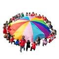 [Забавная] спортивная игра 2 м/3 м/4 м/5 м/6 м в диаметре, открытый Радужный зонт, Парашютная игрушка, прыгающий мешок, игровой коврик, игрушка, по...