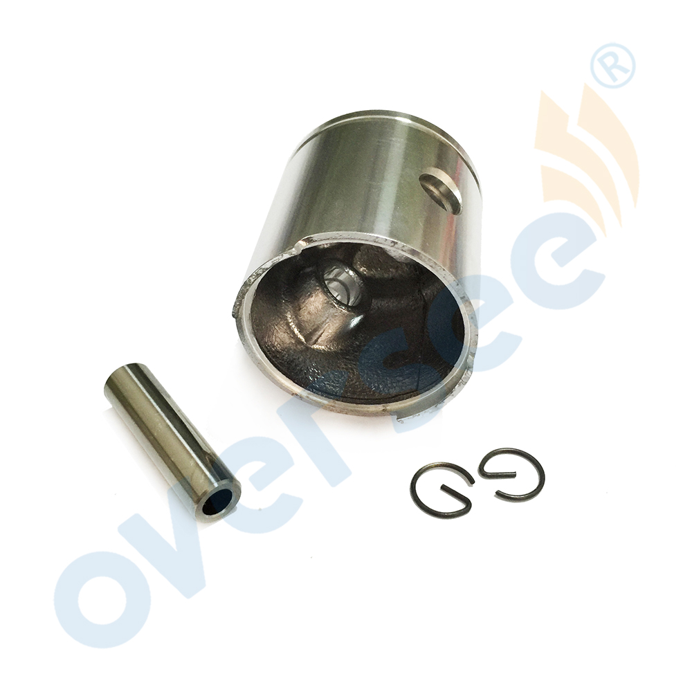 309-00001-0 47mm Piston Kit Std Fit for Tohatsu Nissan <font><b>2.5HP</b></font> 3.5HP Diameter <font><b>Outboard</b></font> Engine boat <font><b>motor</b></font> brand new aftermarket image