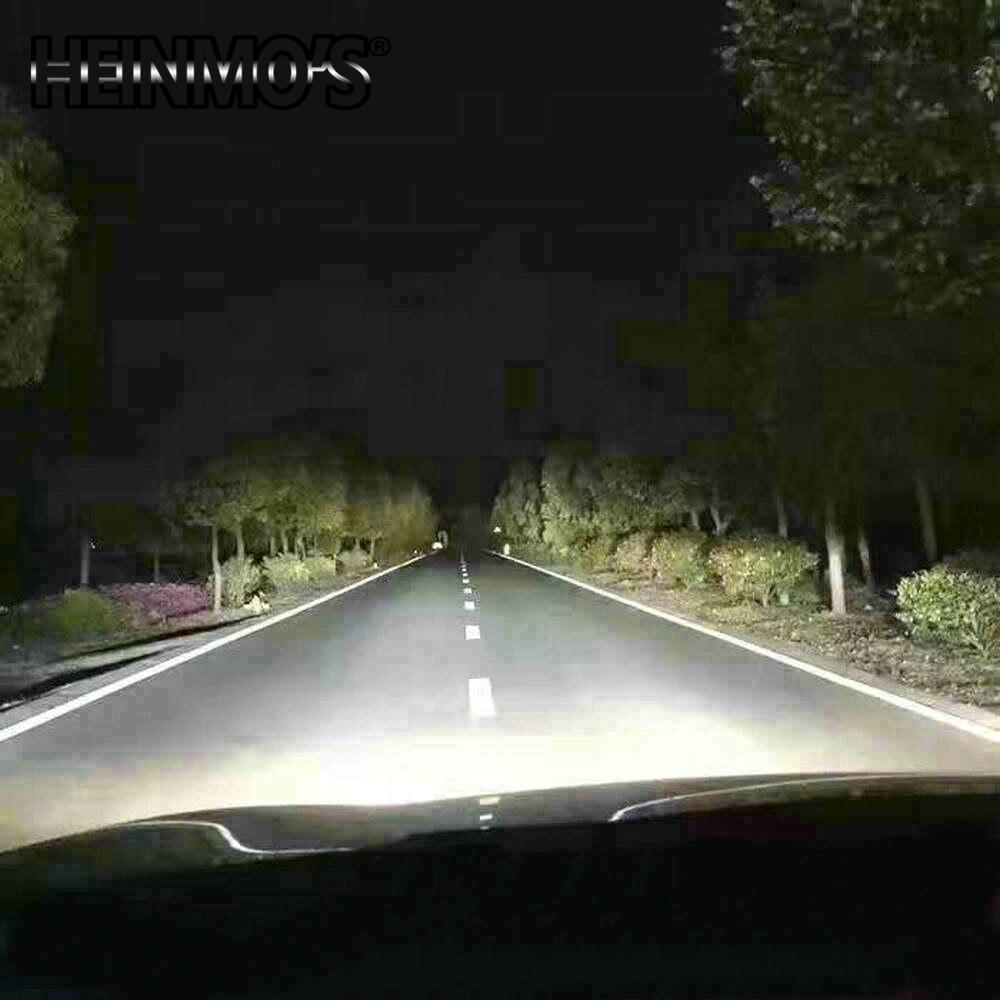 2 * 72W 7600LM COB H8 H9 H11 LED prednja svjetla H7 9005 HB3 HB4 9006 - Svjetla automobila - Foto 6