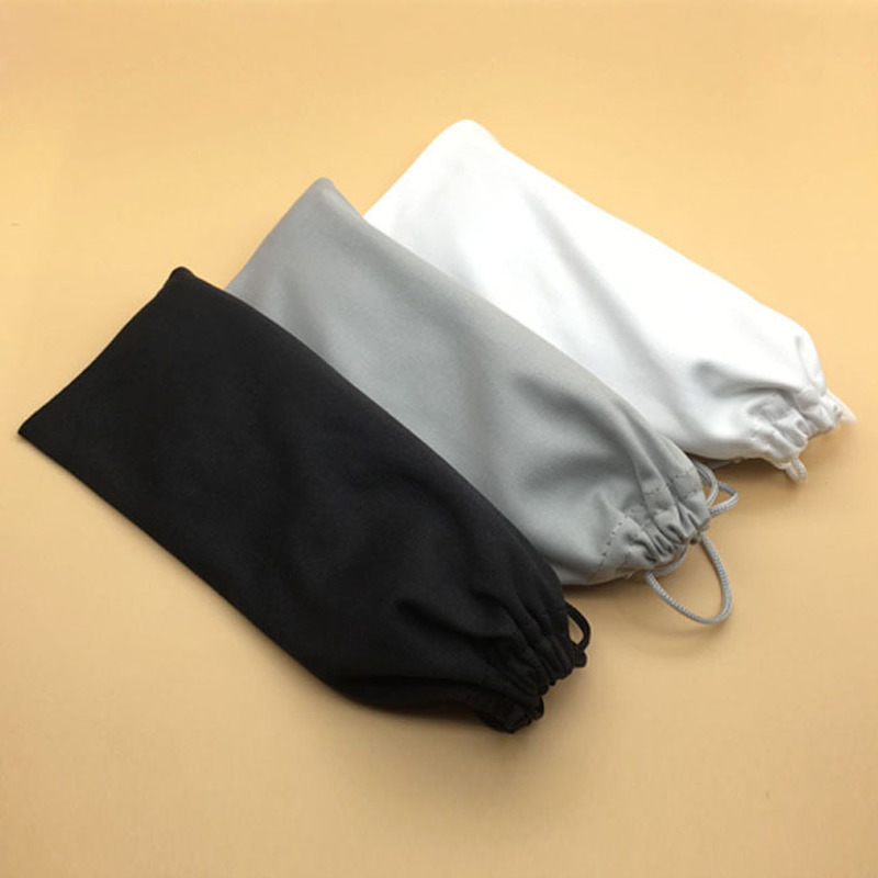 3pcs/lot Soft Cloth Glasses Bag Sunglasses Case Waterproof Dustproof Superfine Fiber Eyeglasses Pouch Eyewear Accessories