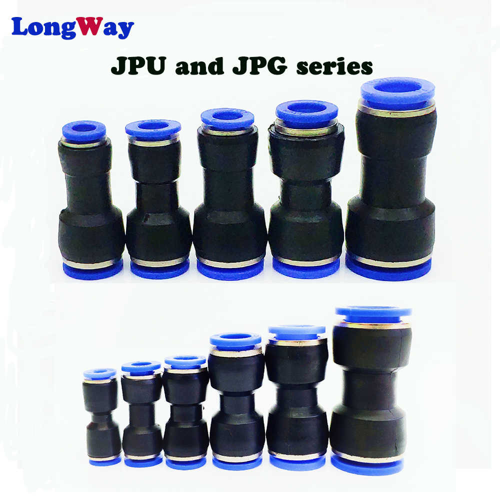 Pneumatic fittings PU 10mm 8mm 6mm 12mm 4mm air water Hose Tube One Touch Straight push-in Fittings Plastic Quick Connector tube