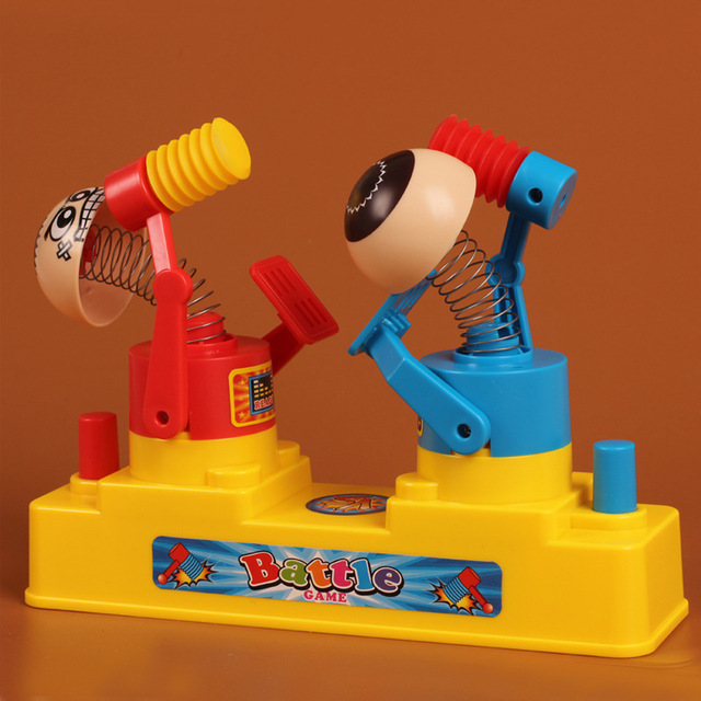Amusing Toy Children The Fancy Table Red and Blue Fighting Game  Parent-child Sports Ease  Pressure Gift