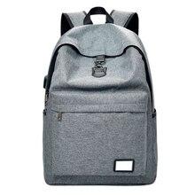 Внешняя зарядка через USB рюкзак Для мужчин рюкзак Mochila Escolar многофункциональный ноутбук Рюкзаки Anti-Theft Сумки для Для мужчин Для женщин