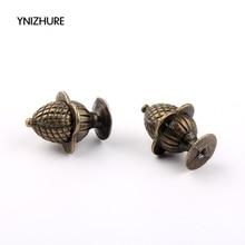 Kitchen Handles Ynizhure Decorative Bronze Furniture-knob/Pull/handle 10pcs Strawberry