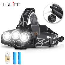 Headlight LED 2* 18650
