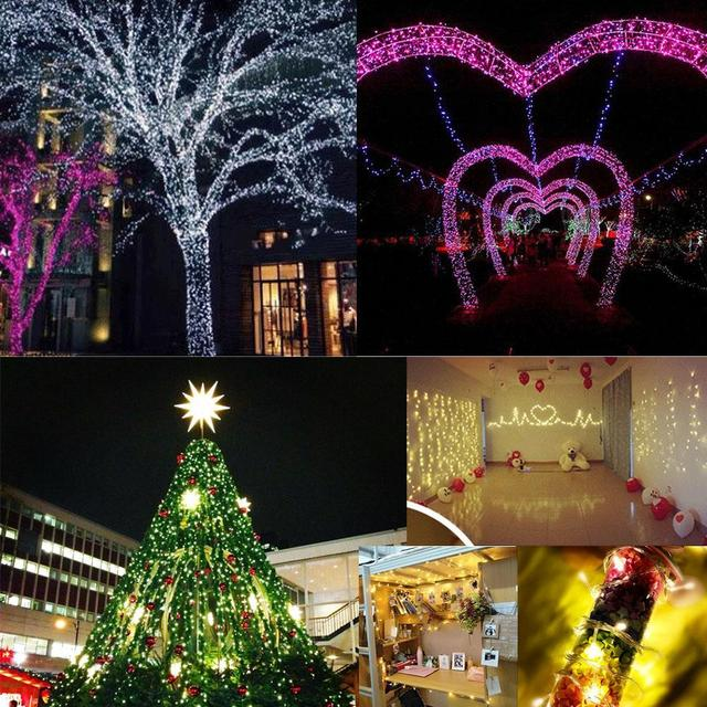 Party String Lights Outdoor 10m 100 led usb copper wire string lights outdoor for christmas 10m 100 led usb copper wire string lights outdoor for christmas decoration wedding party garland decoration workwithnaturefo