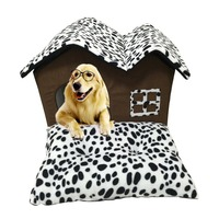 Luxury High End Double Pet House Dog Bed Room