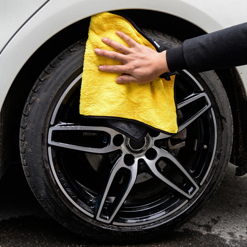 Car-styling Car Care Wash Cleaning Microfiber Towel For Galaxy Chrysler Voyager Passat B5 Fl Suzuki Swift Fiat Punto H4 Saab 9-5 Car Tax Disc Holders Automobiles & Motorcycles