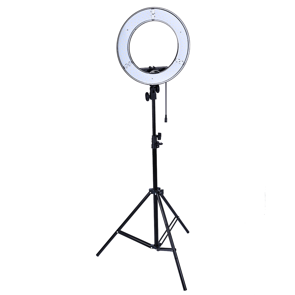 Gvm Photo Studio Led Ring Light: Photo Studio Lighting 180PCS LED Ring Light 5500K Camera
