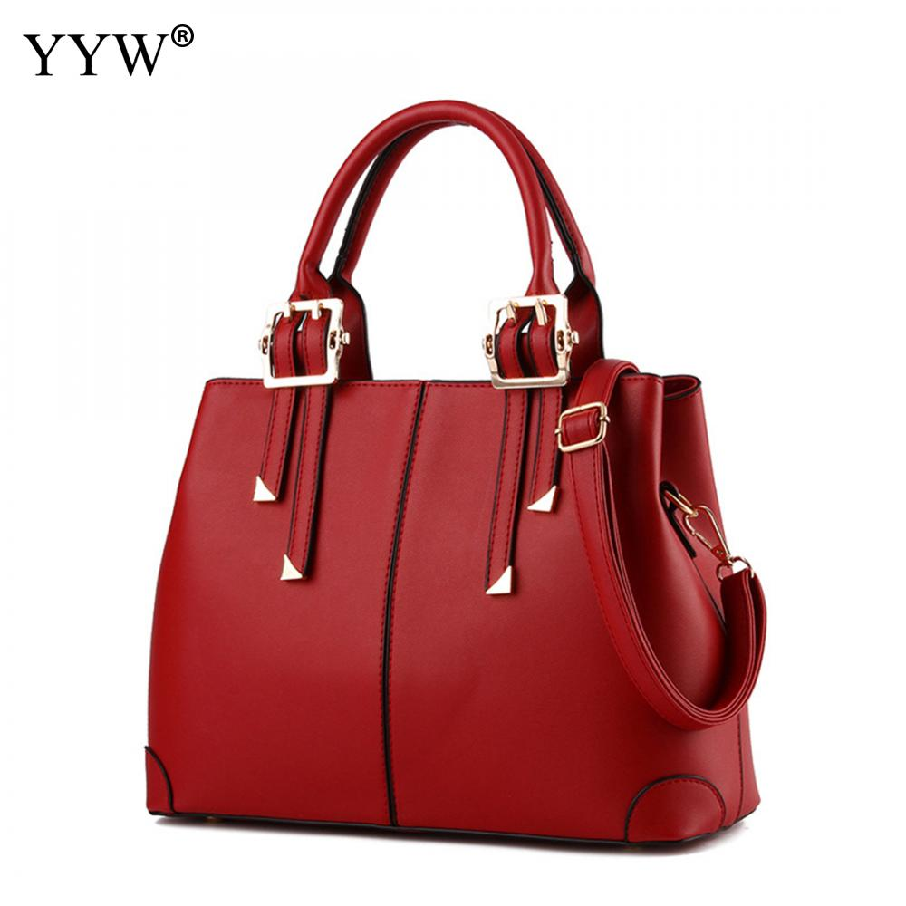 Fashion Brand Luxury Women's PU Leather Handbags Business Tote Bag for Women Top-Handle Bags Famous Brands Lady's Crossbody Bag