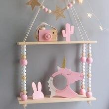 Kinder Zimmer Dekoration Holz Regal Für Kinder Zimmer Holz haken Wand Holz Regal Für Kinder Junge Mädchen Zimmer Wand Dekor regal