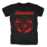 Bloodhoof Free Shipping Tokio Hotel Pop Rock Band Style Balck New T shirt Tops TEE Asian Size