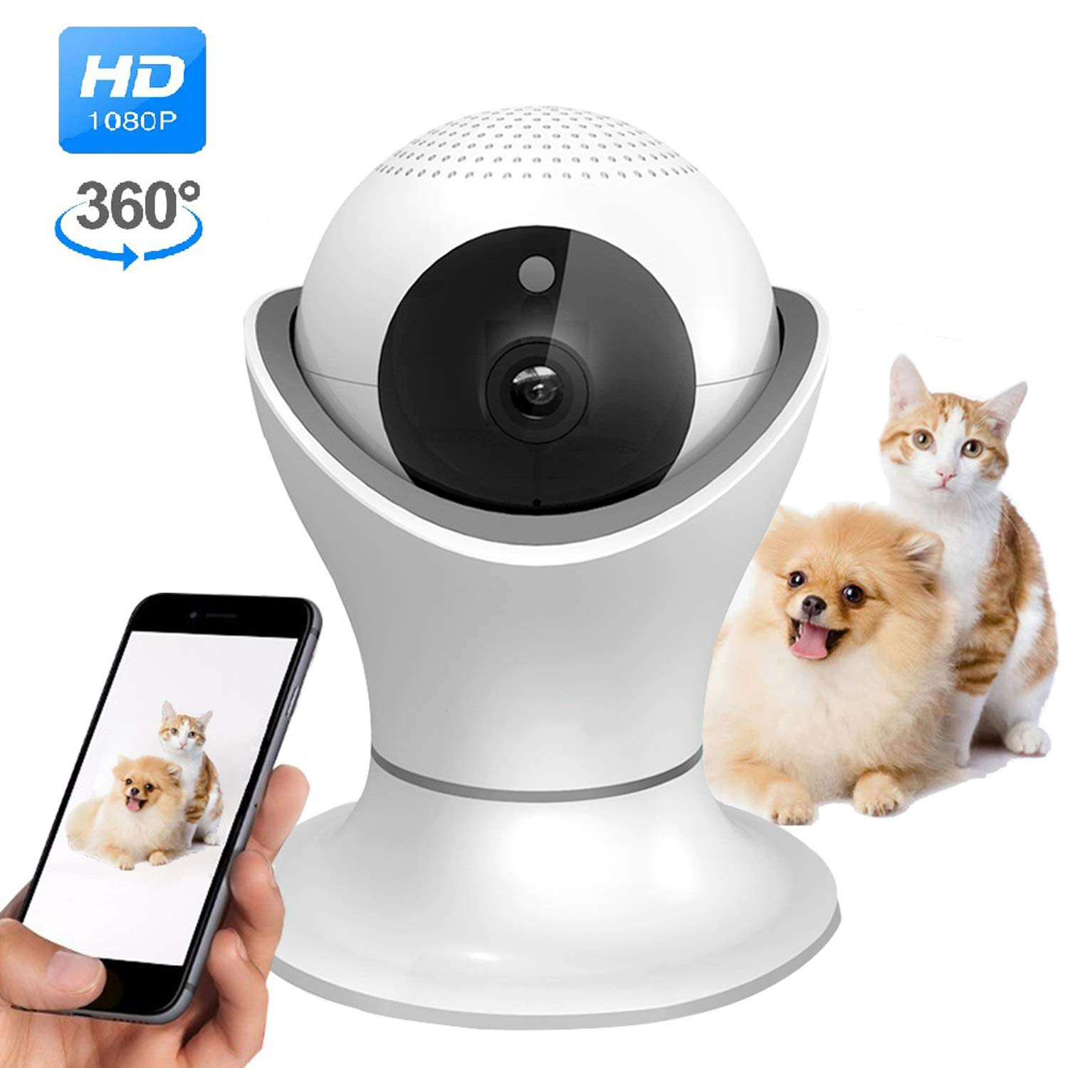 1080P Wifi IP Camera Fisheye 360 Degree CCTV Security Surveillance Camera 2MP Indoor Night Vision CCTV Camera Baby Monitor1080P Wifi IP Camera Fisheye 360 Degree CCTV Security Surveillance Camera 2MP Indoor Night Vision CCTV Camera Baby Monitor