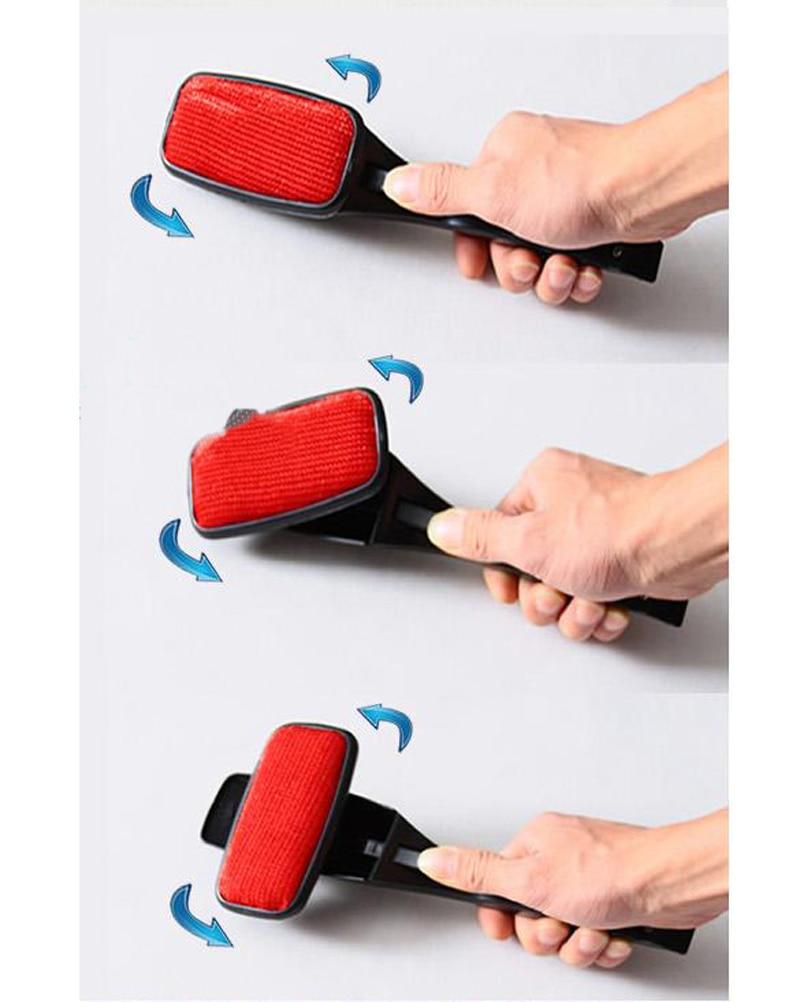 magic lint brush dust pet hair remover cleaning handle bristle electrostatic ebay. Black Bedroom Furniture Sets. Home Design Ideas