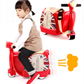 2017 Rushed Top Fashion Bicicleta Infantil Children's Suitcase Sit Ride On Toy Korah Baby Luggage Box Children Motorcycle Cart
