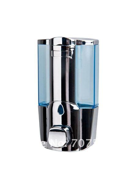 60pcs/lot Wholesale 450ml Manual Single Liquid Soap Dispenser Hi-Q ABS Plastic Lotion Hand Dispensers Wall Mounted TSD17C