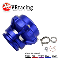 VR RACING New Style 50mm Q Blow Off Valve BOV With V Band Flange High Performance