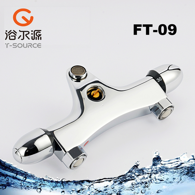 low prices wall mounted thermostatic faucet rain shower mixing valve ...