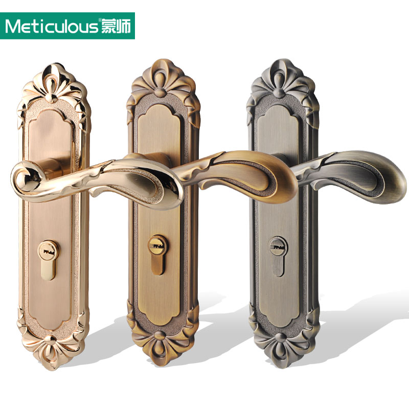 Meticulous Interior door lock gate lockset Security Entry Mortise Lever Lock Stainless steel Anti-Theft Reverse Hook Lock Body