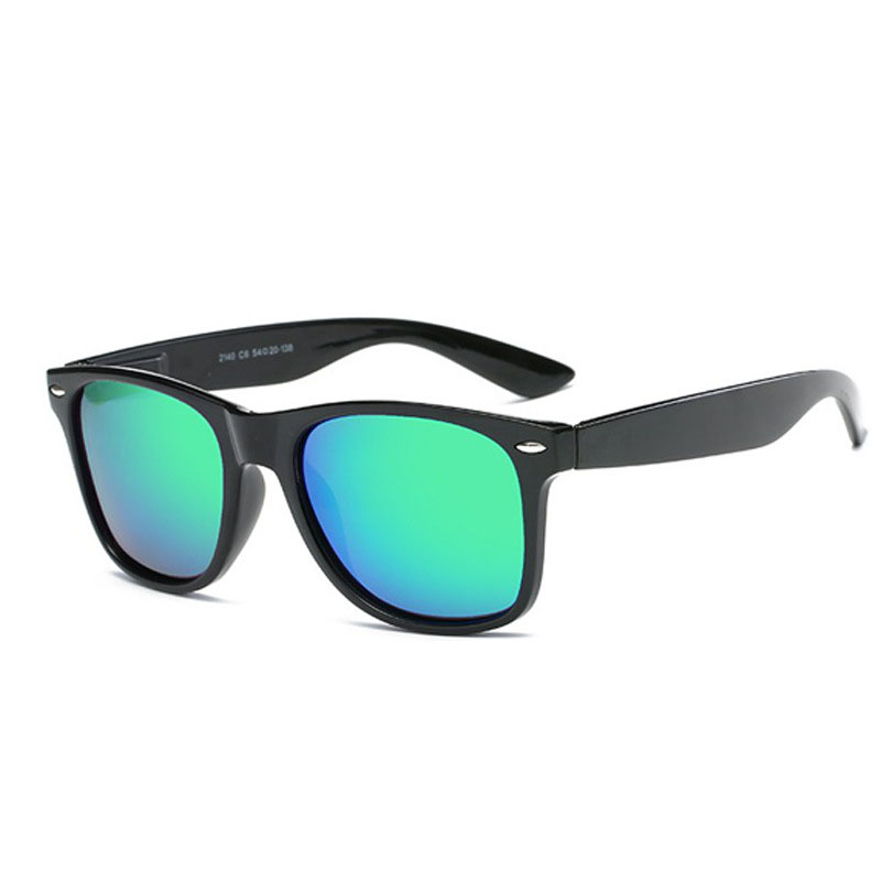 AMII Fashion Unisex Square Vintage Polarized Sunglasses mens Polaroid Women Rivets Metal Design Retro Sun glasses gafas oculos 3
