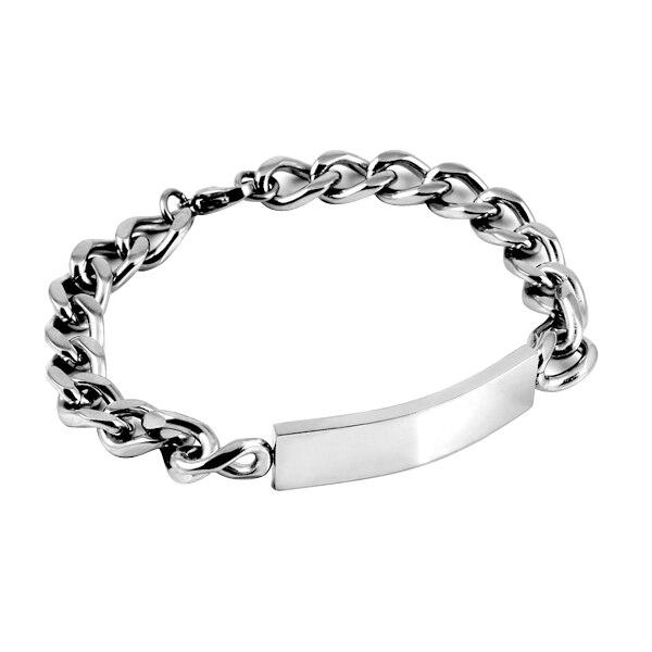 TF 20 Classic delicate Bracelet with locks sparkling cubic zirconia stone Splendid twinkli stainless steel stylish