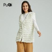 VT801 новые женские модные теплые меховые жилеты из кроличьей шерсти пальто теплое с различными цветами на выбор бежевого черного размера плюс