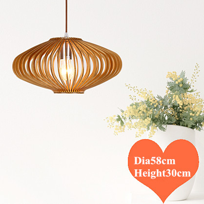 Classical rural wood art Pendant Lights Handmade indoor ply-wood chips E27 LED lamp for porch&corridor BT205-800&BT205-580-1 southeast asia style hand knitting bamboo art pendant lights modern rural e27 led lamp for porch