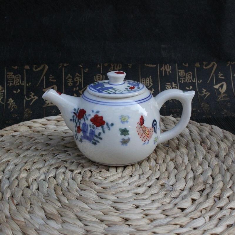 Ensemble de thé en porcelaine antique Jingdezhen
