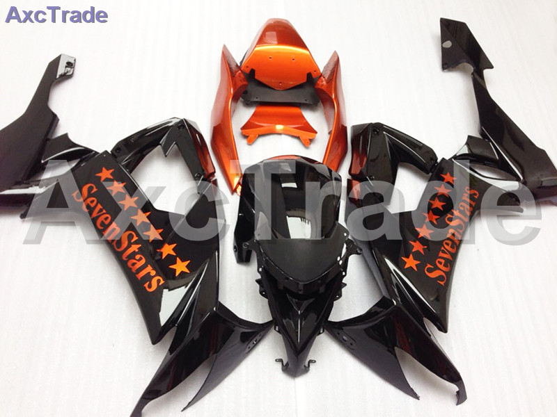 Fit For Kawasaki Ninja ZX10R ZX-10R 2008 2009 2010 08 09 10 Motorcycle Fairing Kit High Quality ABS Plastic Injection Mold C518 moto motorcycle fairing kit for kawasaki ninja zx10r zx 10r 2008 2009 2010 08 09 10 abs plastic fairings fairing kit white black