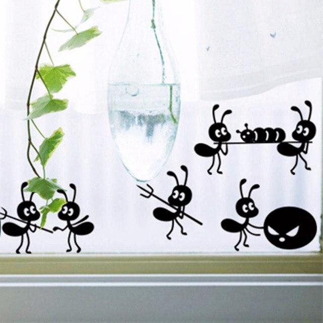 Einrichtungsgegenstände Wandaufkleber Wandtattoo Cute Ameisen ...