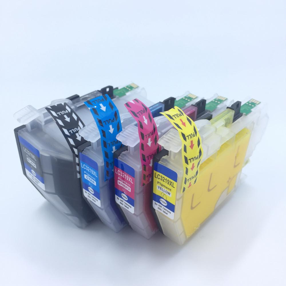 YOTAT Pigment ink LC3219 Compatible ink cartridge LC3219XL (LC3217) for Brother MFC-J5330DW MFC-J5335DW MFC-J5730DW MFC-J5930DW long refill ink cartridge lc3219 xl lc3219xl lc3217 for brother mfc j5330dw j5335dw j5730dw j5930dw j6530dw j6930dw j6935dw