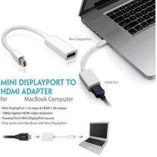 Pro Thunderbolt Mini DisplayPort Display Port DP to HDMI Adapter Cable For Apple Mac Macbook Air EDAL