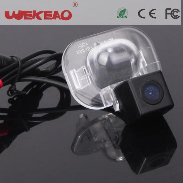 Wekeao Car Rear View Reversing Parking Kit Reverse Camera For Hyundai Verna Solaris Sedan Kia Forte Clear Night Vision CCD