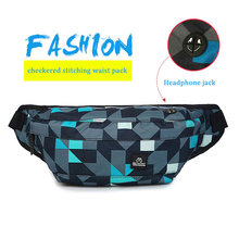 Outdoor Pockets Male Chest bag Running Sports Music Package Travel Anti-Theft Wallet