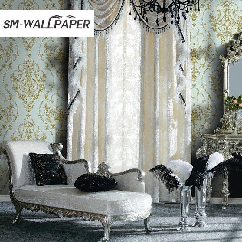 Hot Sale Latest Deep Big Flower Waiting Room Wallpaper hot sale cayler