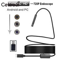 8mm 2MP 8LED 3M Android Phone USB Type C Endoscope Camera Waterproof Video Camera Pipe Inspection