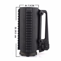 Tactical Military Multifunction Alloy Detachable Carry Battle Rail Cup Mug 500MLFor Outdoor Camping Hiking