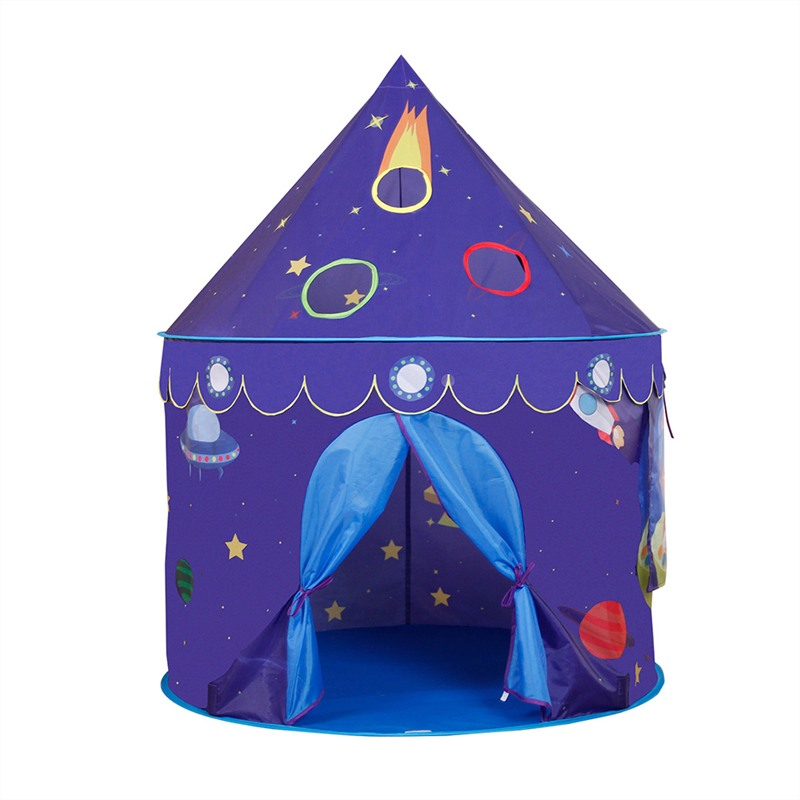 ФОТО 2 in 1 Child Play Blue Train Play Tent  Pop Pp Outdoor And Indoor Tent Traveling And Hiking New 2017