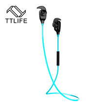 TTLIFE High Quality Bluetooth headset V4.0 Wireless Sport music earphone CVC6.0 Sweatproof headphones for Phone xiaomi Phones