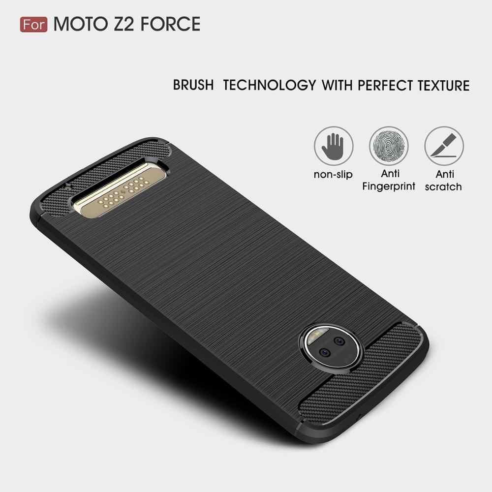 Coque 5.5For Moto Z2 силы чехол для Motorola Moto Z2 Z Z3 Z4 Force Play 2nd Gen Droid Xt1710 телефона чехол-лента на заднюю панель